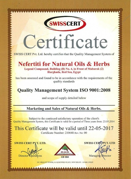 nefertiti for natural oils und herbs